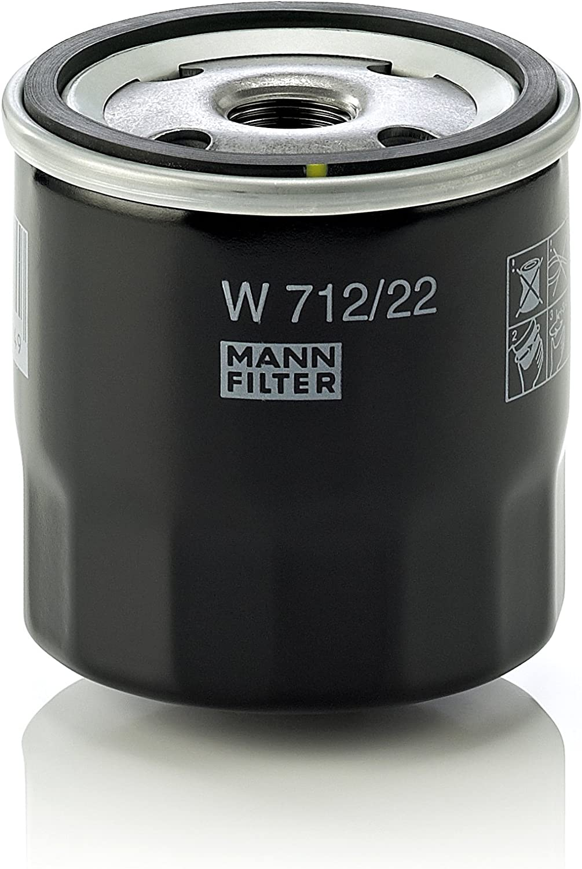 Mann Filter W71222 Ölfilter Vom Hersteller Eingestellt Auto