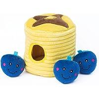 Zippy Paws ZP878 Zippy Burrow - Blueberry Pancakes, Interactive Toys