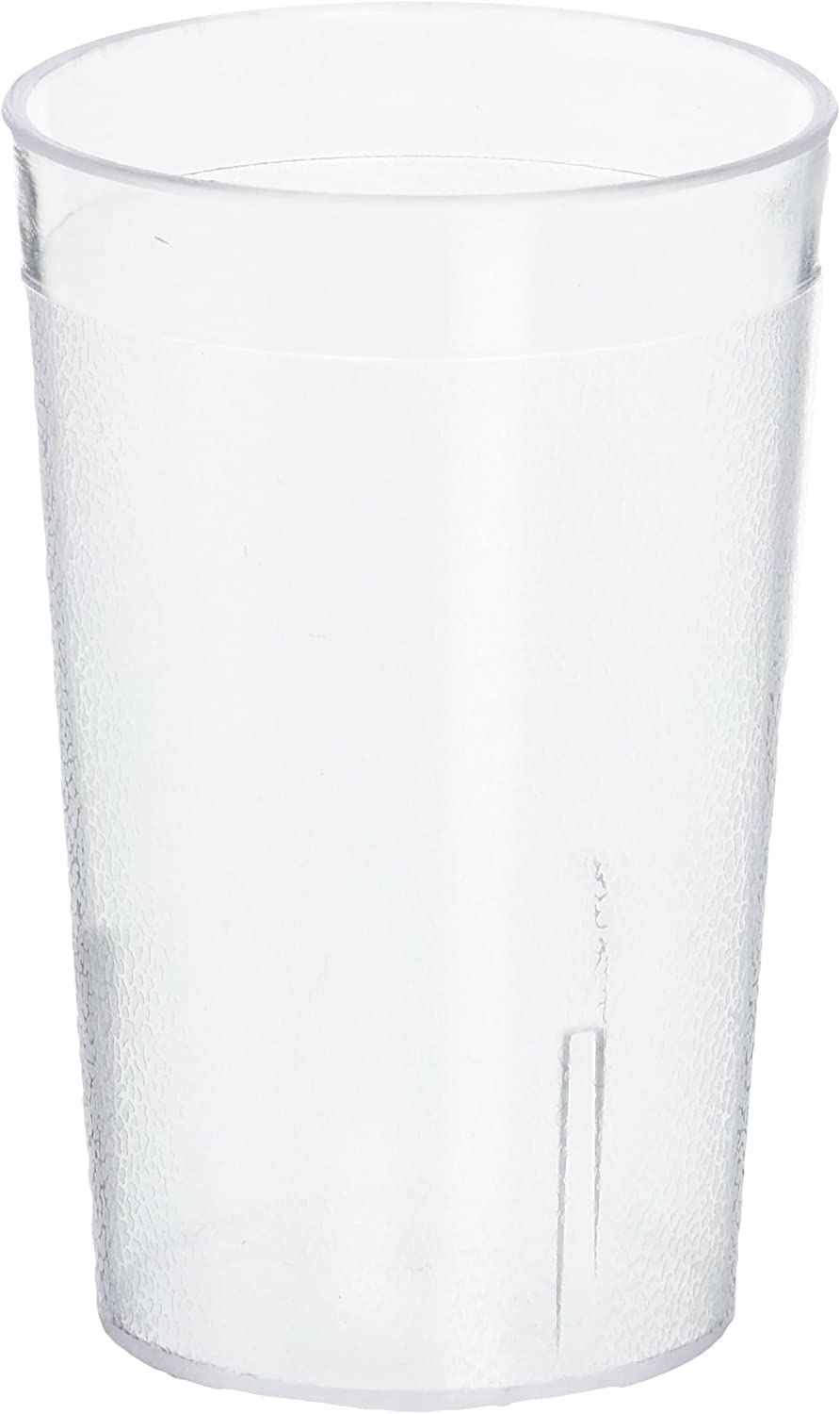 Winco Pebbled Tumblers, 8-Ounce, Clear