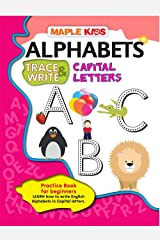 Alphabets Writing Book - Capital Letters (Practice) Paperback