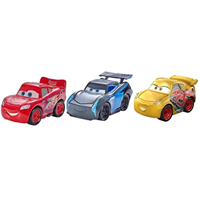 Disney Pixar Cars Mini Racers Cars 3 Series 3-Pack: Toys & Games