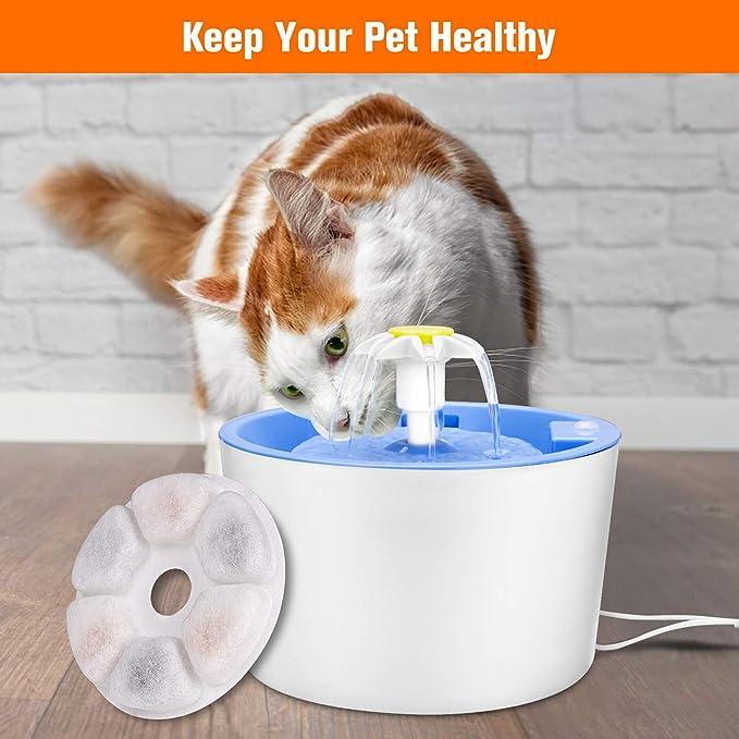 9,9 cm Filtri di ricambio per fontana per animali domestici per cani e gatti 5 pezzi great-fyl