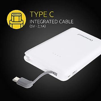 Intenso S10000 C Slim Powerbank Mit Type C Ladekabel Elektronik