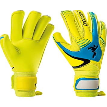 Womens Precision GK Fusion-X Finger Protect Roll Womens 5 FLUO Womens  Goalkeeper Gloves yellow 8a98915837