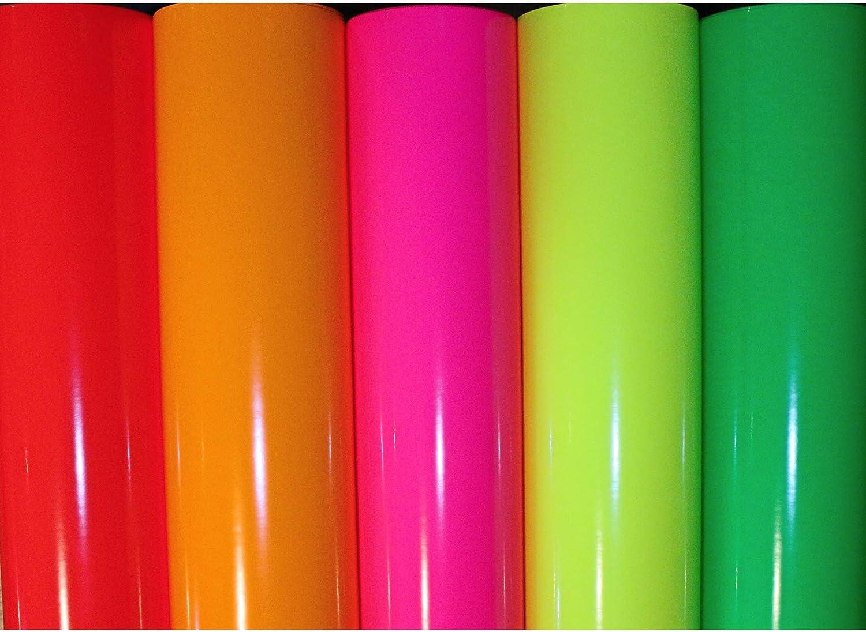Finest Folia (22,80€/m²) Neon Pantalla para Plotter Oracal 6510 Fluorescent Orafol: Amazon.es: Juguetes y juegos
