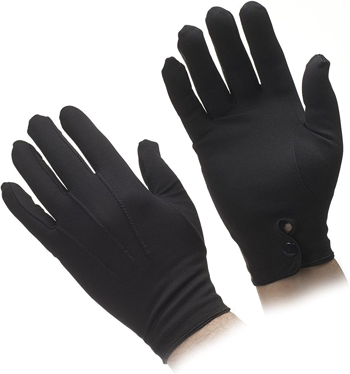 Mens Nylon Stretch Gloves MANY COLORS