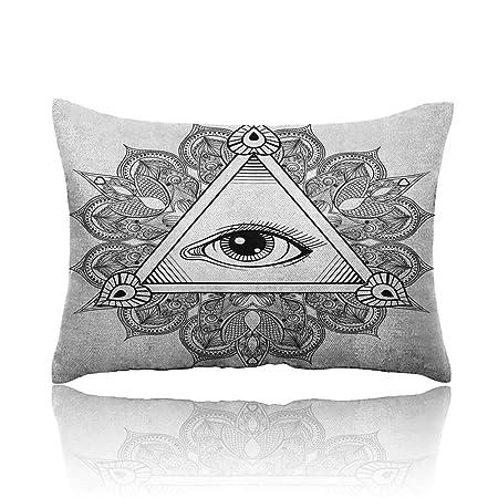 Anyangoche, Tatuaje de Ojos Vintage con símbolo de Mandala Bohemio ...