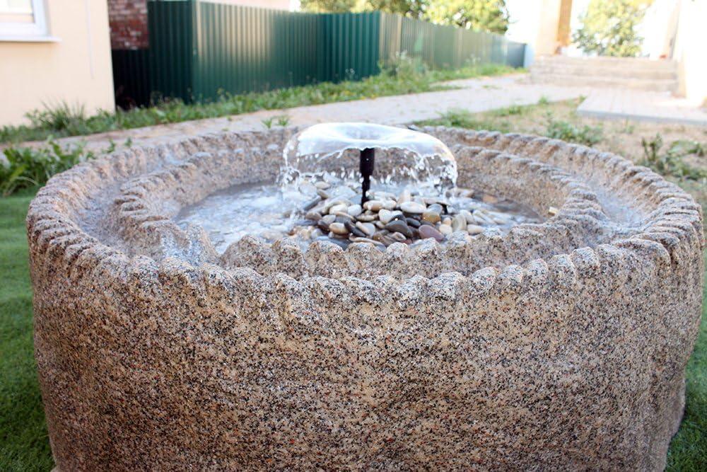 Fuente piedra aqua: Amazon.es: Jardín