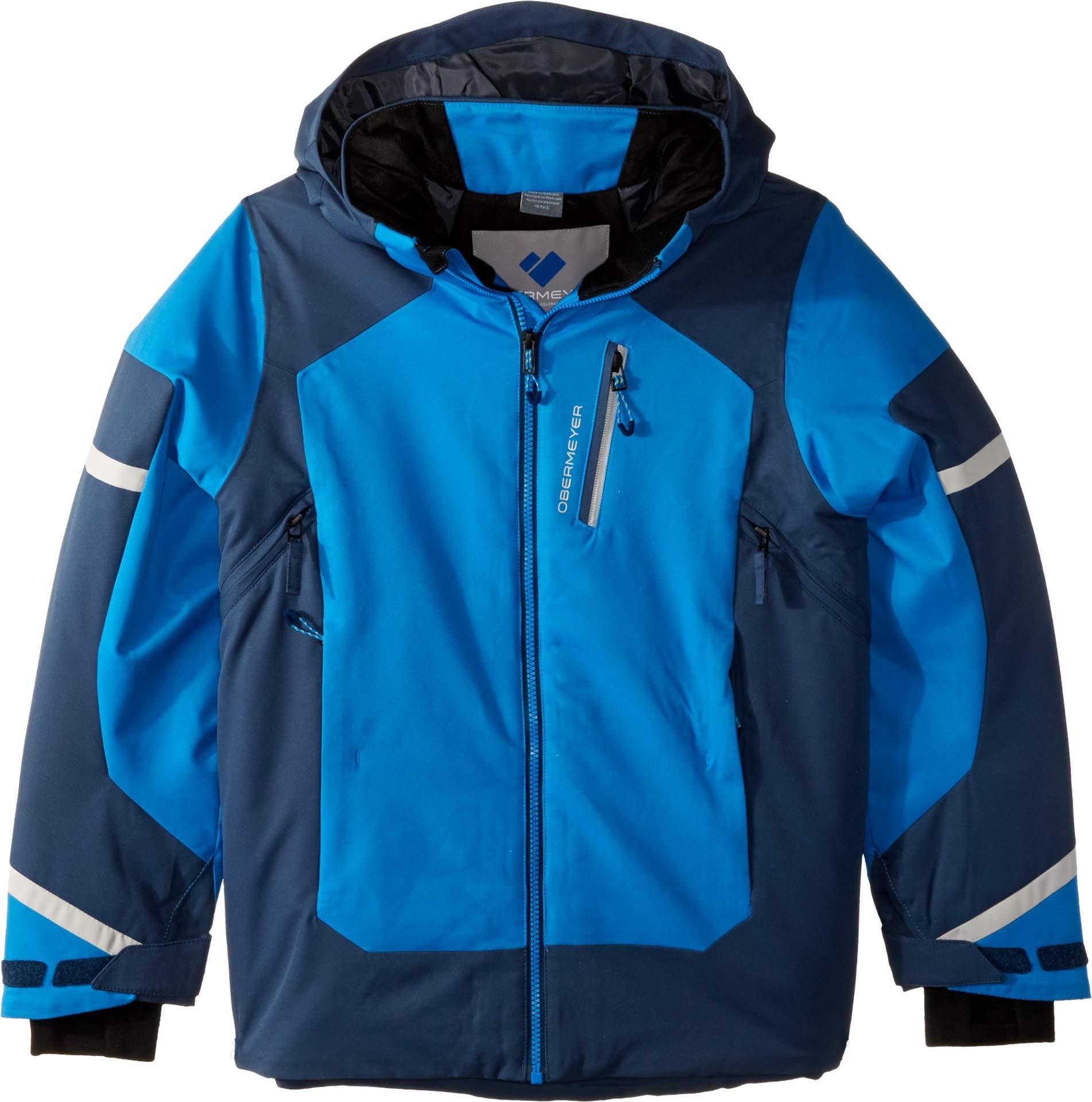 Obermeyer Kids Boy's Outland Jacket (Little Kids/Big Kids) Stellar Blue X-Large