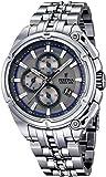 Festina - F16881-3 - Montre Homme - Quartz Chronographe - Cadran Gris - Bracelet Acier Argent