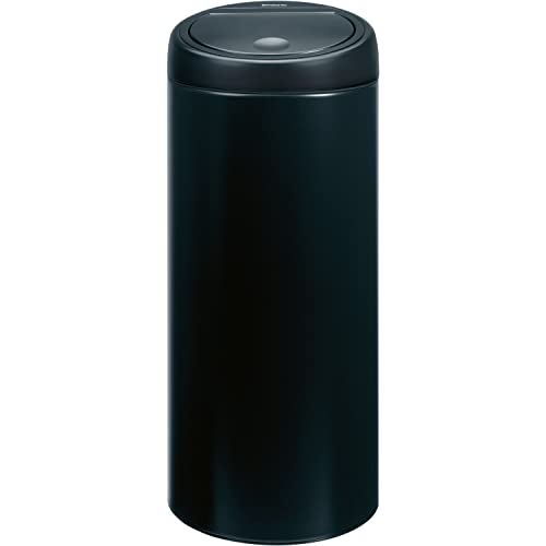 Brabantia 30 Litre Soft Touch Bin - Matt Black
