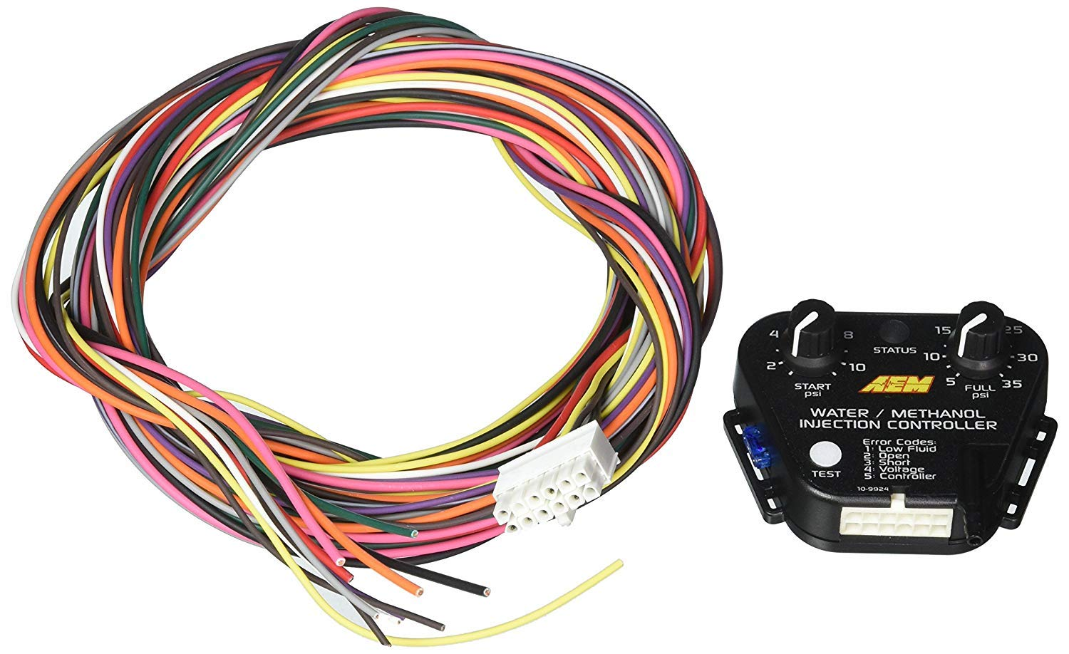 AEM (30-3304) V2 Water/Methanol Injection Standard Controller Kit with Internal MAP Sensor