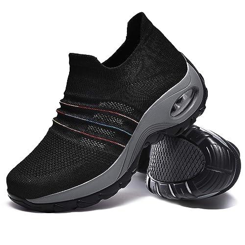 b733be3be3f0a Amazon.com | Hotaden Walking Shoes for Women, Comfortable Platform ...