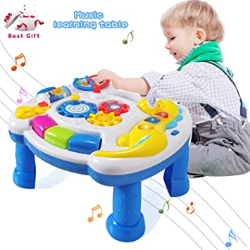 b8595fa2c ACTRINIC Baby Toys Musical Learning Table 12 to 18 Months up-Early ...