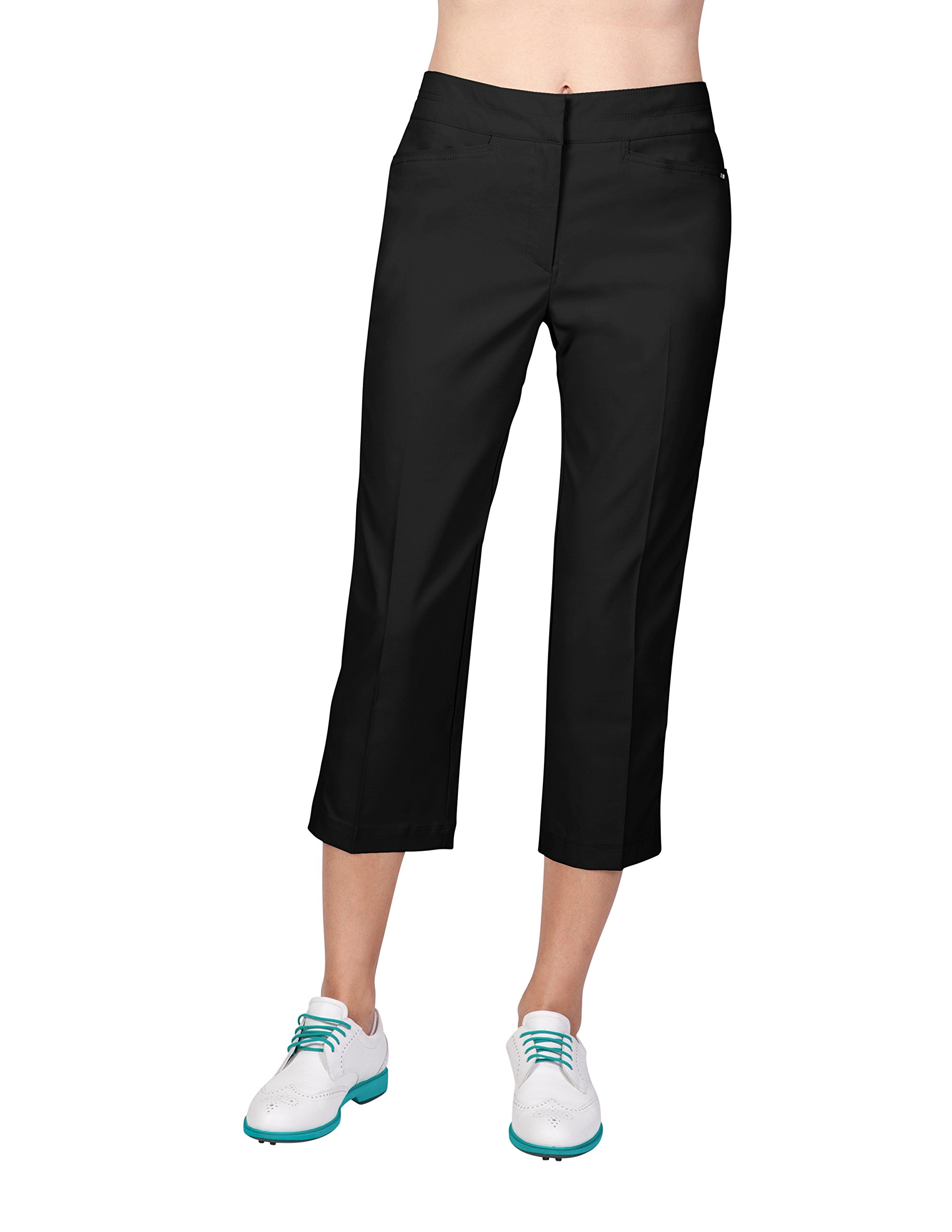 Tail Activewear Women's Classic Capri 6 Black by Tail (Image #1)