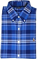 Ralph Lauren Men's Stretch Oxford Button Down Slim Fit Shirt