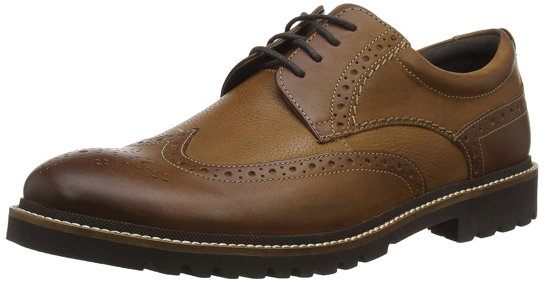 TALLA 46 EU. Rockport Marshall Wingtip Shoe, Zapatos de Cordones Derby para Hombre