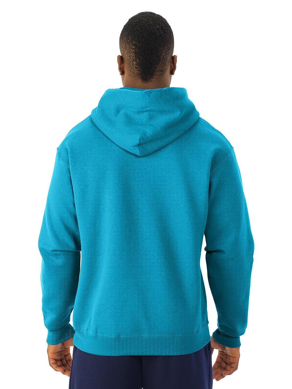 8 oz NuBlend 50//50 Pullover Hood  L,TRUE NAVY Jerzees