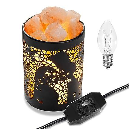 Amazoncom Himilian Pink Salt Lamps Oxyled Himalayan Sea Salt Lamp