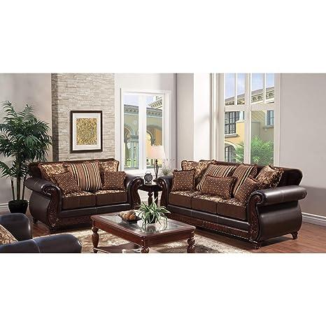 Amazon.com: Muebles de América tradicionales Franchesca 2 ...