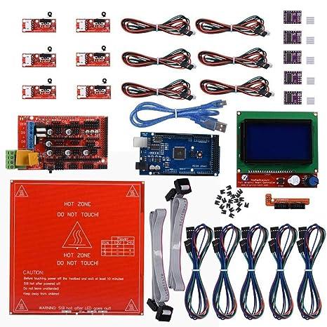 Generic Arduino 3d impresora controlador Kit – Mega 2560 Junta, 3d ...