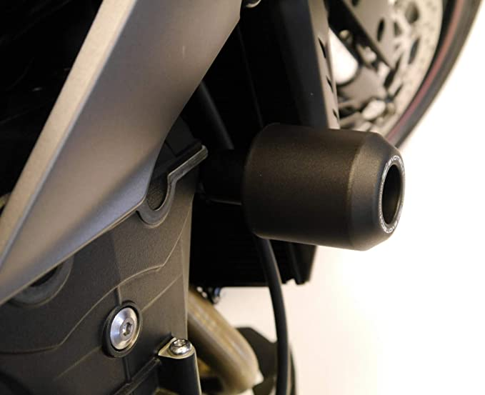 RS /& 660 PRN013712 Evotech Performance Front Wheel Sliders//Bobbins to fit Triumph Street Triple 765R S Years 2017 to 2020