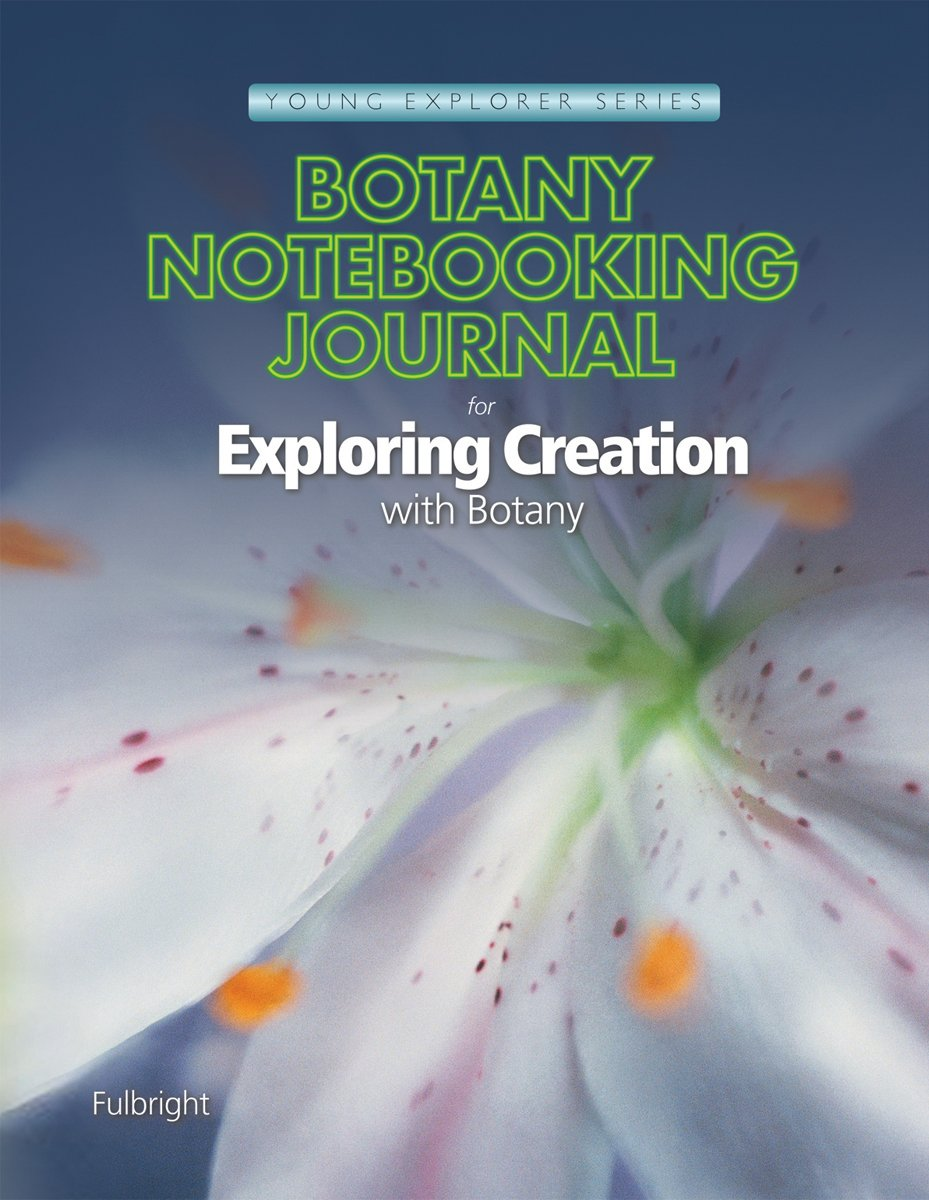 A Journey Through Learning Apologia Exploring Creation with Botany Lapbook CD