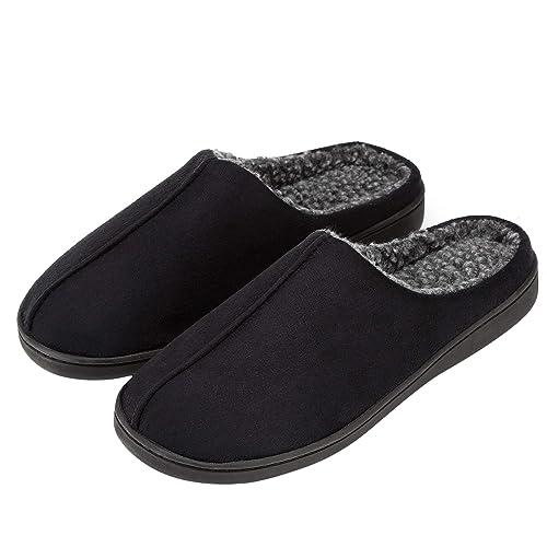 amazon com luffymomo men s house slippers indoor comfort slip on rh amazon com mens bedroom slippers target mens bedroom slippers target