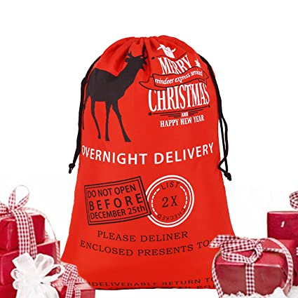 korcci merry christmas standing reindeer christmas bag factory discount limited edition great novelty gift or - Is 711 Open On Christmas