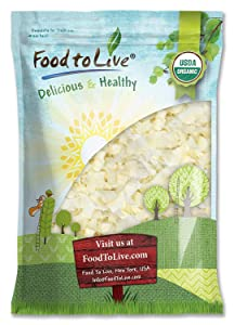 Organic Coconut Chips, 6 Pounds - Non-GMO, Kosher, Raw, Desiccated, Unsweetened, Unsulfured, Dried Flakes, Vegan, Keto, Bulk, Great for Baking
