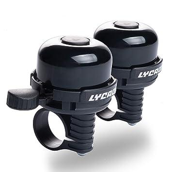Amazon.com: LYCAON - Timbre para bicicleta de 8 colores, de ...