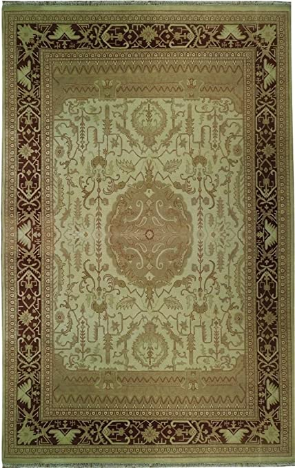 Amazon Com Ivory 10x15 Area Rug Fine Quality Vegetable Dyed Antique