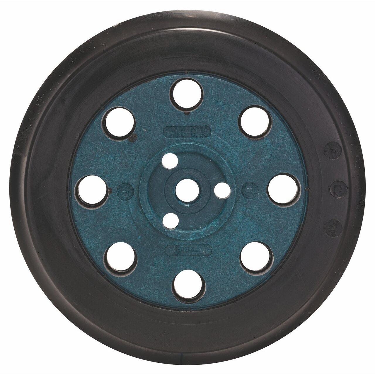 Bosch 2608601062 125mm Sanding Plate for Bosch Random Orbit Sanders - Medium Hard Robert Bosch Limited