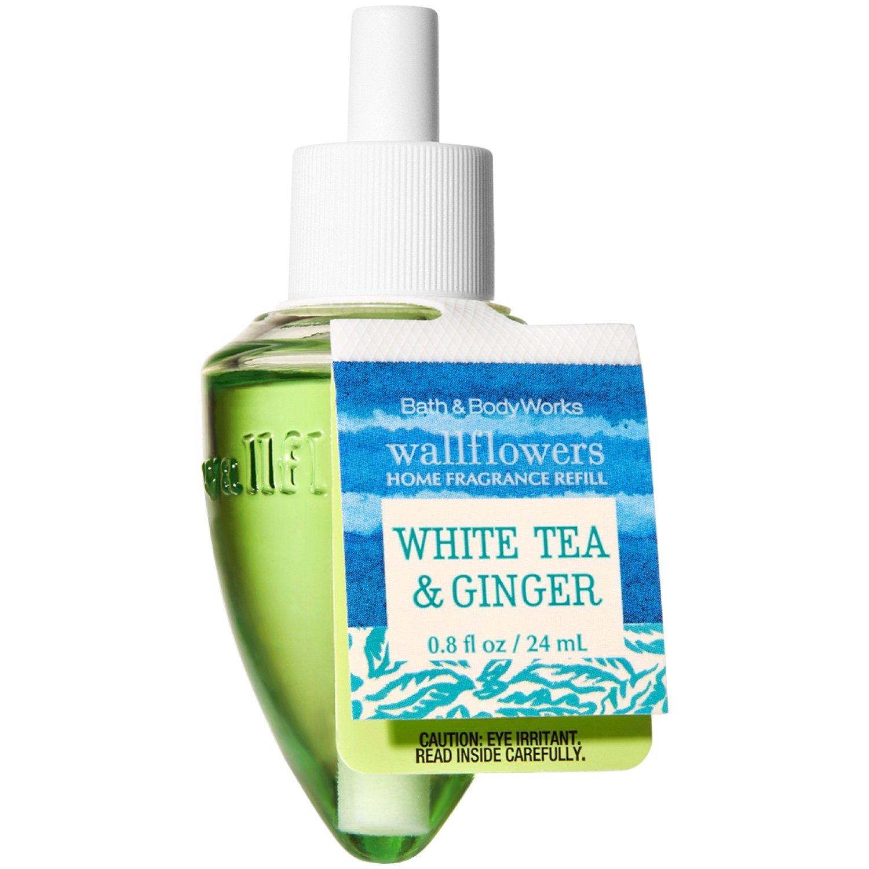 Bath and Body Works Wallflowers Single Refill REFRESHING FAVORITES (White Tea & Ginger)
