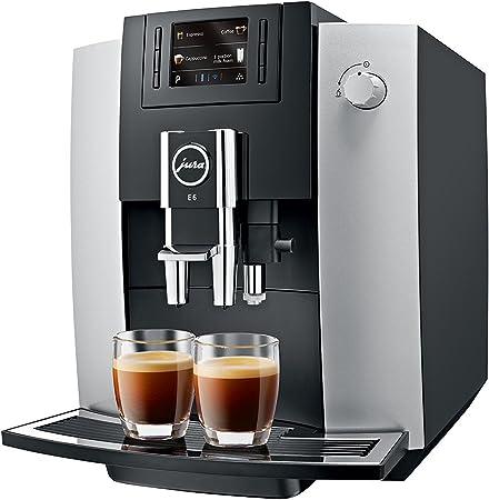 Jura Impressa E6 - Cafetera (Independiente, Totalmente automática ...