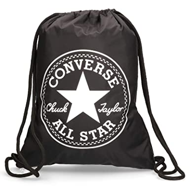 Converse Flash Drawstring Gym Bag Black  Amazon.co.uk  Shoes   Bags 5ea6aec2c547c
