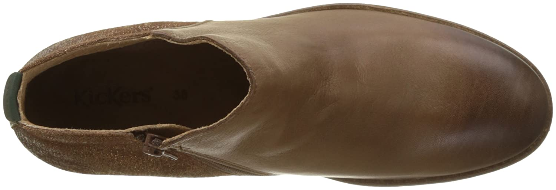 Kickers Damen Lower Kurzschaft Stiefel, grau grau grau 022da0