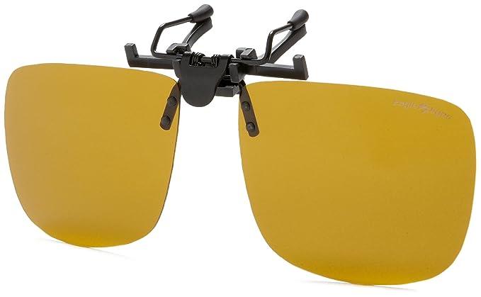 0c19b0e2b3 Amazon.com  Eagle Eyes Clip On Sunglasses - Universal Square Design ...