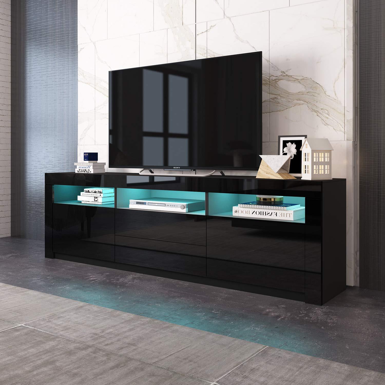 TV Stands & Multimedia Centers Home & Kitchen LED Lights ...