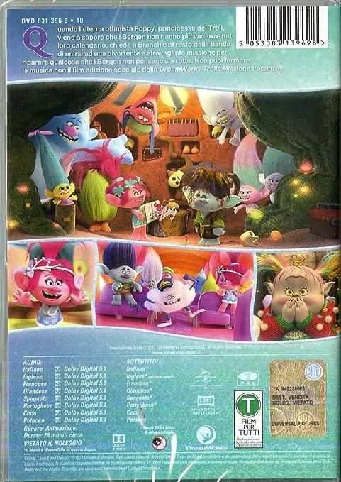Trolls missione vacanze: amazon.it: poppy brigida branch: film e tv