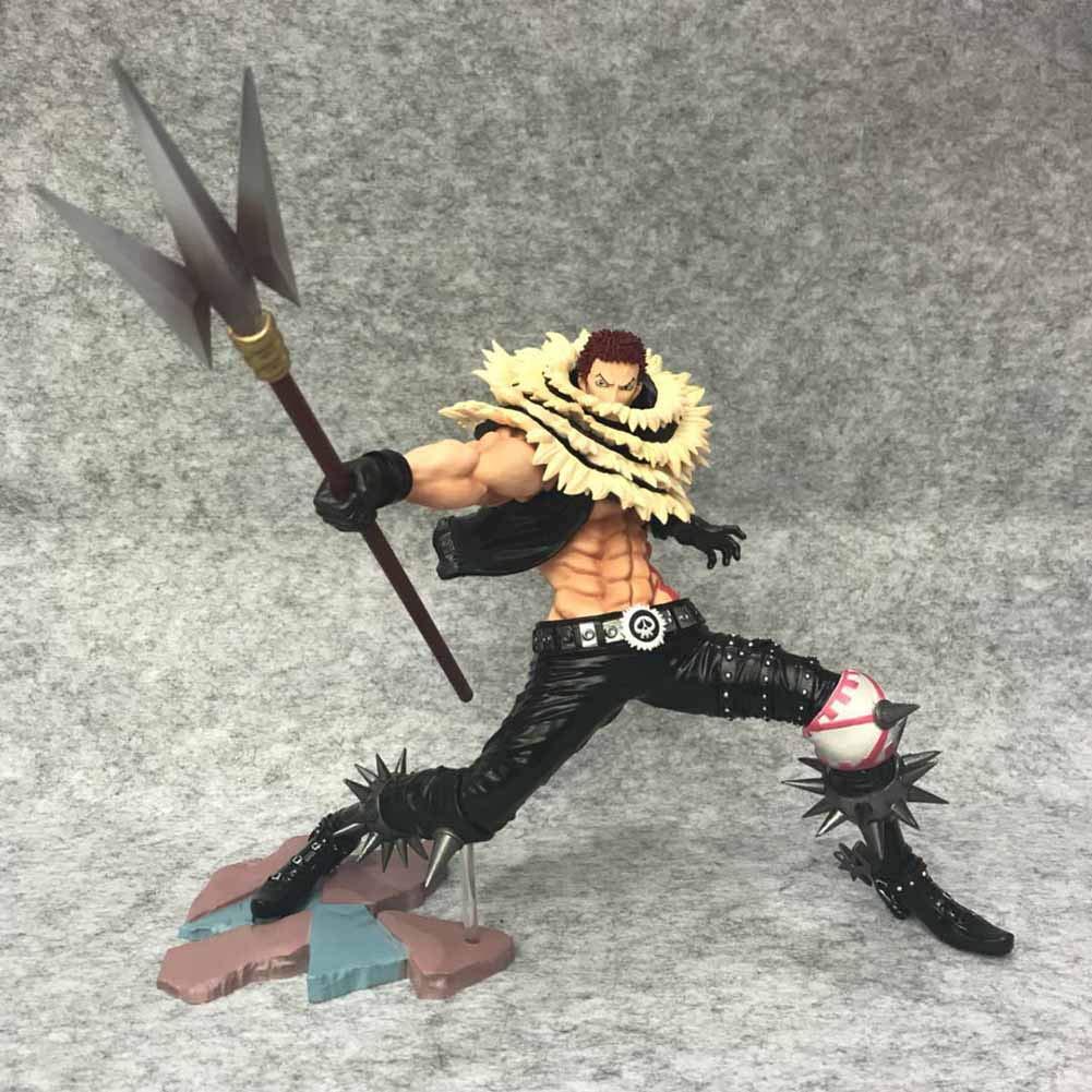 Sbarden One Piece Anime Battle Version Charlotte Katakuri EcoFriendly PVC Figure   Vinyl Figure   Action Figure   Collectible Anime Fans Gift