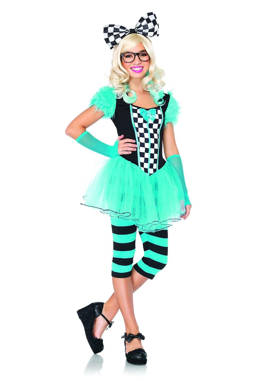 bluee M L Leg Avenue Junior Hipster Alice Costume (M  L, bluee)