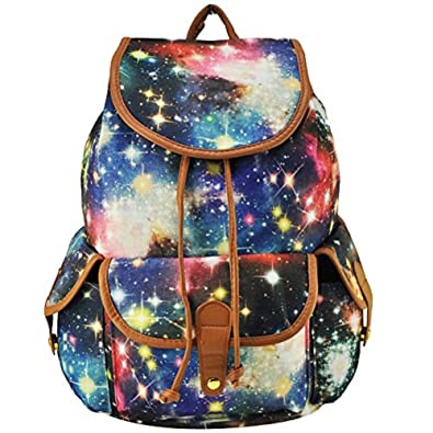 Amazon.com: MiCoolker Cute Printed Star Print College Style Casual ...