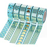 Outflower 3pcs vintage decorativo Washi tape per diario Handbook DIY album adesivi scrapbooking