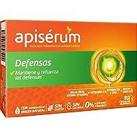 Apisérum Defensas Cápsulas - Jalea Real con Vitamina C, Reishi y Shitake – Mantiene y…