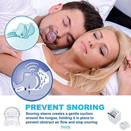 Retenedor de Lengua Dispositivos Anti-Ronquidos | Dientes de molienda Guardia | Snorker Stopper Stop