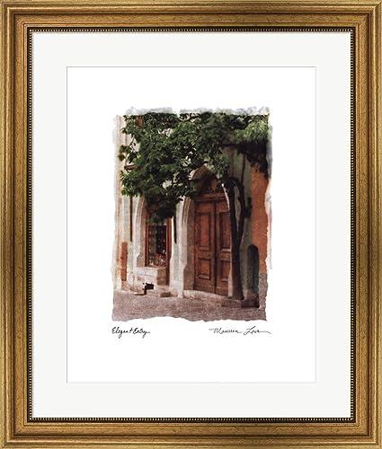 Amazon.com: Elegant Entry by Maureen Love Framed Art Print Wall ...