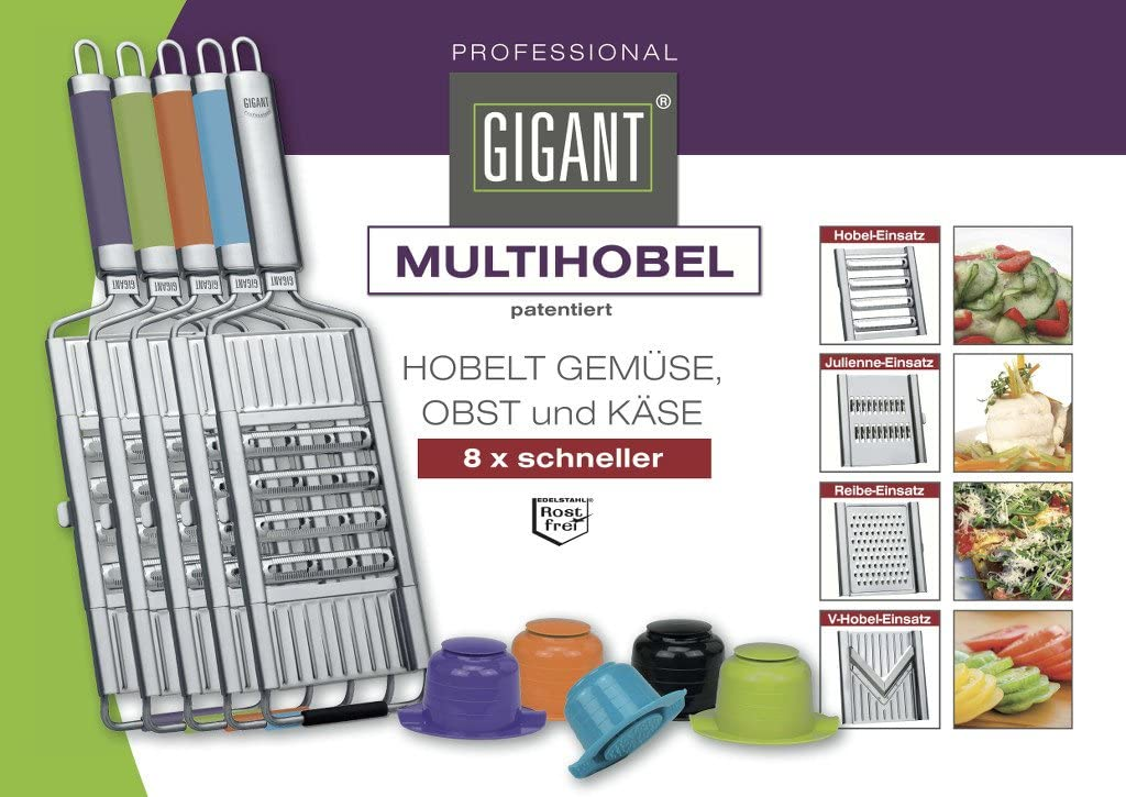 Novabest Gigant Multihobel Multi-Slicer Gr/ün
