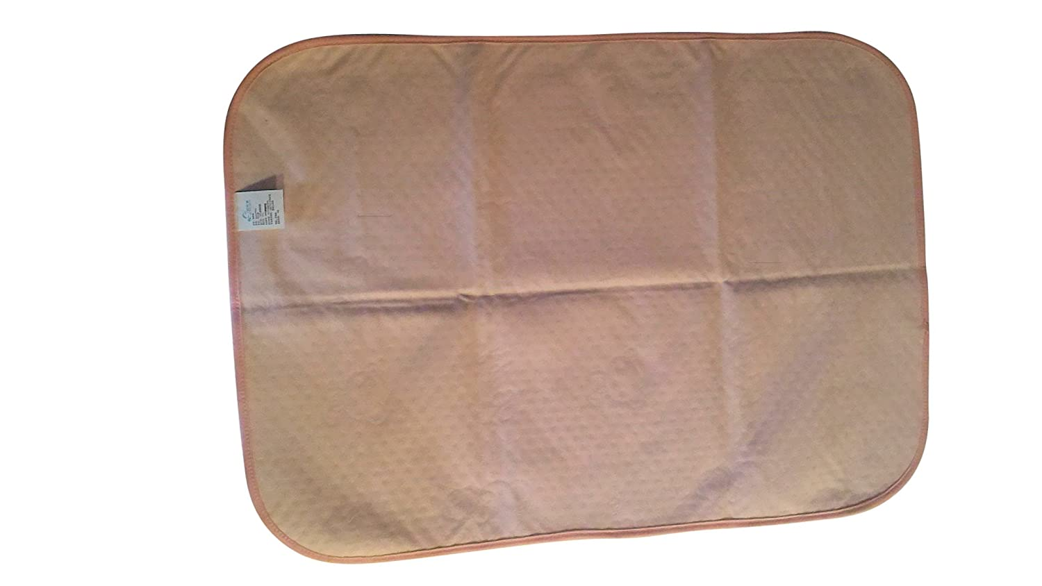 Waterproof Changing Pad Liners Protectors Pink, 11 x 17 Bed Sheet Protector for Women or Seniors Great Gift 4 Layers Large Protector for Baby Changing Pad