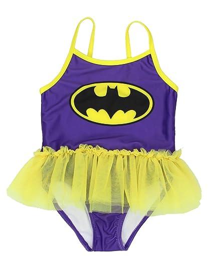 203beb9b78 Amazon.com  Warner Bros. Girls  Batgirl Toddler Swimsuit  Clothing